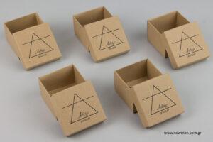 Αιθήρ: Μεταλλοτυπία σε κουτιά μπιζού.