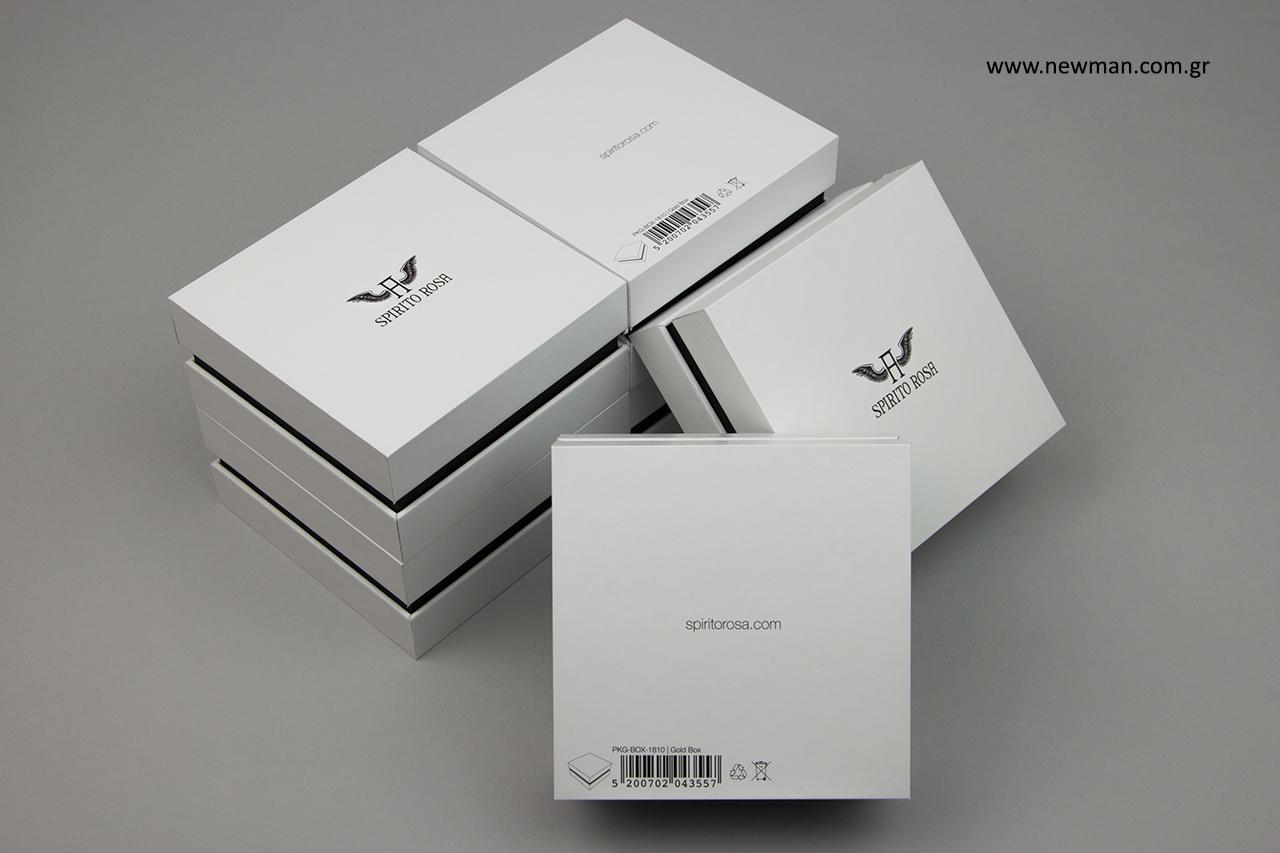Κουτί ειδικής παραγγελίας για κόσμημα.