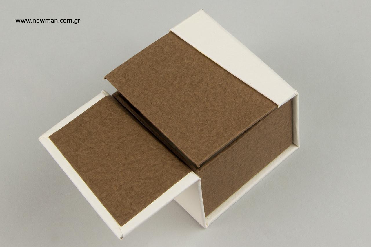 BJ οικολογική σειρά κουτιών για κοσμήματα με εκτύπωση.