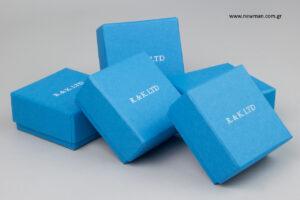 R&K LTD: Σκληρό κουτί αποθήκευσης με λογότυπο.