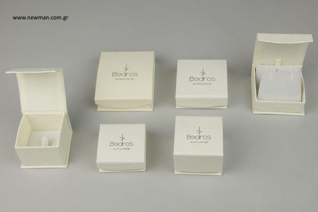 Bedros Jewelry Design: Τυπωμένα κουτιά της σειράς DRP Newman.