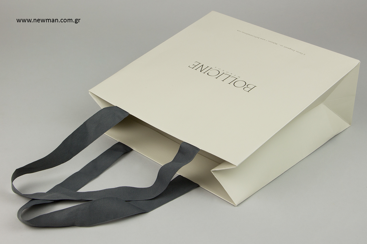 Επώνυμες τσάντες για κατάστημα NewMan.