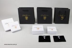 ἔλδωρ jewellery: Συσκευασίες Newman χονδρική με λογότυπο.