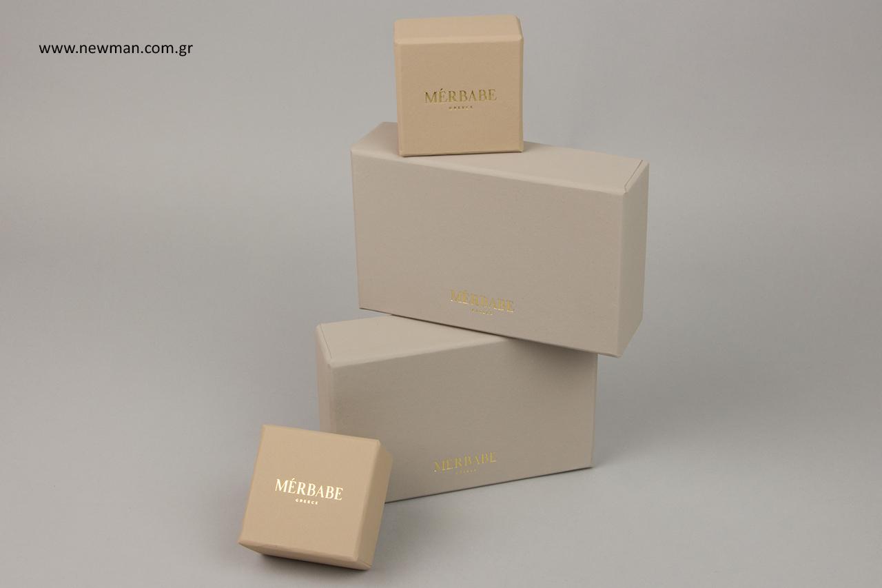 Επώνυμα κουτιά χονδρικής για αποθήκευση κοσμημάτων.