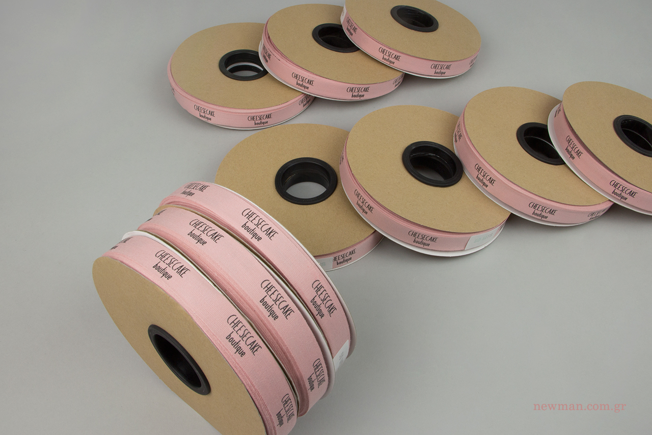 Newman βαμβακερές κορδέλες με τύπωμα.