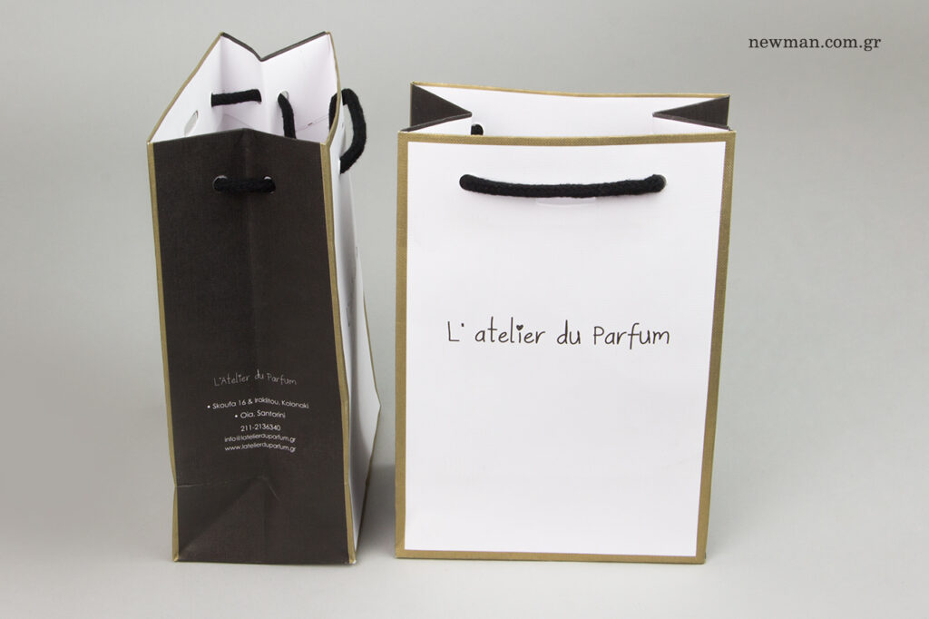 L'Atelier du Parfum: Τυπωμένα είδη συσκευασίας NewMan.