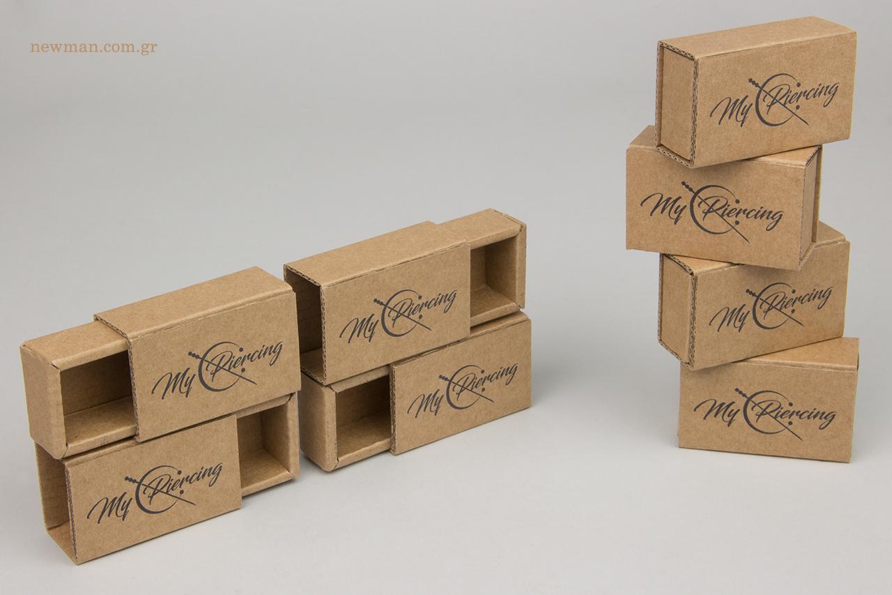 Οικολογικά συρταρωτά κουτιά χονδρικής για κοσμήματα και αξεσουάρ με το δικό σας λογότυπο.