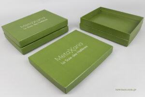 MetaXana - La Soie de Hellènes: Ψηφιακά τυπωμένα είδη συσκευασίας NewMan.